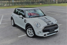 2014 MINI 3 DOOR 2014 MINI COOPER S 2.0A TWIN TURBO NEW FACELIFT JAPAN SPEC SELLING PRICE ( RM 123,000.00 NEGO )