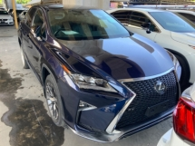 2017 LEXUS RX 200t F sport electric seat back left camera Precrash system lane assist 3LED sport mode unregistered