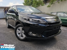 2017 TOYOTA HARRIER 2.0 ELEGANCE ORI PLAYER BLACK 2TONE OFFER UNREG