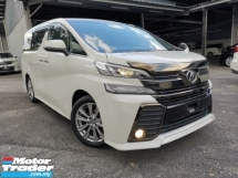 2017 TOYOTA VELLFIRE 2.5 ZA Z Golden Eyes SUNROOF WHITE OFFER UNREG