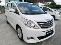 2014 TOYOTA VELLFIRE 2.4G Facelift (A) - Local Spec