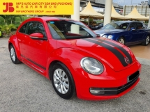 2014 VOLKSWAGEN BEETLE 1.2 TSI Facelift (A) UNDER WARRANTY