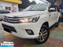 2016 TOYOTA HILUX Toyota HILUX 2.8 G LEATHER (A) FLIFT P/START WRNTY