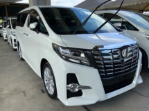 2016 TOYOTA ALPHARD 2.5 S 7 seaters 2 power doors 7 speed push start keyless entry unregistered