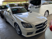 2015 MERCEDES-BENZ SLK 200 AMG sport package unregistered