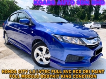 2016 HONDA CITY 1.5 i-VTEC FULL SVC RCD ORI PAINT