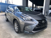 2017 LEXUS NX 200T I PACKAGE 3 LED 4 CAM UNREGISTERED