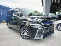2015 TOYOTA VELLFIRE 2015 Toyota Vellfire 2.5 ZG Pilot Seat Power Boot 2 Power Door Unregister for sale