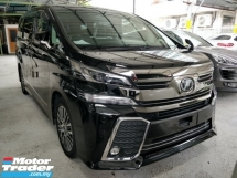 2016 TOYOTA VELLFIRE 2.5 ZG SUNROOF with ALPINE PLAYER