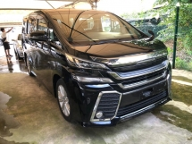 2015 TOYOTA VELLFIRE 2.5 Z 2 POWER DOOR POWER BOOT 360 SURROUND CAMERA FREE WARRANTY