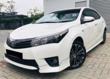 2015 TOYOTA COROLLA ALTIS (A) 2.0 ALTIS V (SAFETY PACKAGE)