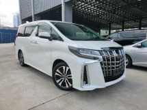 2019 TOYOTA ALPHARD 2019 Toyota Alphard 2.5 SC Facelift 3 LED Sun Roof Pre Crash LTA Leather Seat Power Boot Unregister For Sale
