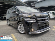 2017 TOYOTA VELLFIRE 2.5 ZA Z Golden Eyes MODELLISTA BODYKIT GRILL BLACK LOW MILEAGE OFFER UNREG