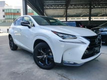 2017 LEXUS NX 2017 Lexus NX200T Urban Style 4 Camera 360 View Pre Crash BSM Leather Power Boot Unregister for sale