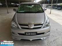 2007 TOYOTA INNOVA 2.0 G (A)B/LIST CTOS CAN LOAN