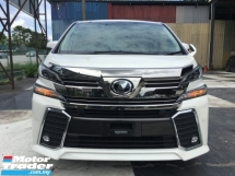2017 TOYOTA VELLFIRE 2.5 ZG SUNROF PRE CRASH UNREG