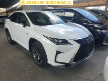 2016 LEXUS RX RX200t F Sport Pre Crash Power Boot Unreg Local AP