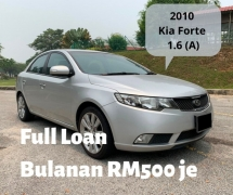 2010 KIA FORTE 1.6 SX (A) Full Spec Full Loan 1 Yrs Warranty