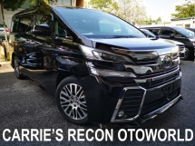 2015 TOYOTA VELLFIRE 3.5ZG EDITION (PILOT SEAT, ANDROID PLAYER) UNREG JAPAN SPEC