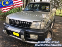 2002 TOYOTA LAND CRUISER PRADO 2.7 GX (M) AIRBAGS ABS