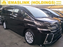 2016 TOYOTA VELLFIRE 2.5 ZA 7 SAETER PRE CRASH STOP SYSTEM POWER BOOT 2 POWER DOOR 360 SURROUND CAMERA