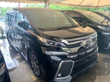 2016 TOYOTA VELLFIRE 2.5ZG Leather Pilot Seat JBL Sound System Home Theater Unregister SST Inclusive No Hidden Charge