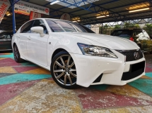 2013 LEXUS GS250 Lexus GS250 2.5 F SPORT (A) PERFECT COND WARRANTY