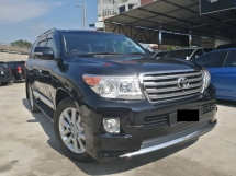 2014 TOYOTA LAND CRUISER ZX 60TH BLACK LEATHER SELECTION ALL BLACK INTERIOR -KING CAR -KING KONG CAR -