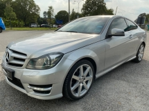 2012 MERCEDES-BENZ C-CLASS C180 COUPE AMG SPEC TIPTOP LIKE NEW