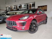 2015 PORSCHE MACAN S 3.0 V6 RED SPECIAL WHITE LEATHER UK SPEC OFFER UNREG