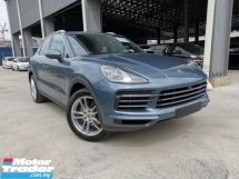 2018 PORSCHE CAYENNE 3.0 V6 BISCAY BLUE BEIGE LEATHER SPECIAL OFFER UK UNREG