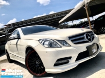 2012 MERCEDES-BENZ E-CLASS E250 CGI 1.8 AMG (A) FACELIFT 7 SPEED PADDLE SHIFT