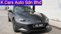 2016 MAZDA MX-5 2.0 Skyactiv Solf Top Reg 2017 (CBU) (Actual Year) Full Service History Warranty By Mazda Until 2022 No Repair Need Worth Buy