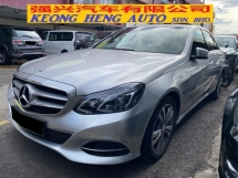 2014 MERCEDES-BENZ E-CLASS E200 Facelift CKD Actual Year Make