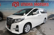 2015 TOYOTA ALPHARD 2.5 SA ALPINE SUNROOF CNY SALE SPECIAL BEST DEAL