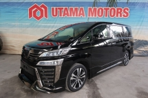 2018 TOYOTA VELLFIRE 2.5 ZG SUNROOF ALPINE COOLING SEATS CNY SALE SPECIAL