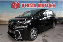 2018 TOYOTA VELLFIRE 2.5 ZG ROOF MONITOR PILOT SEATS CNY SALE SPECIAL
