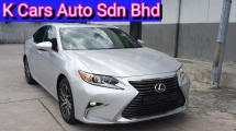 2015 LEXUS ES250 2.5 Luxury Reg 2016 (Actual Year) FACELIFT Full Service History By Lexus Malaysia Warranty Until 2021 Accident Free Worth Buy