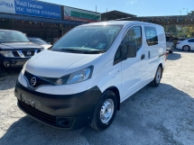 2014 NISSAN NV200 SEMI PANEL ONE OWNER LOW MILEAGE 5 SEAT TIPTOP LIKE NEW