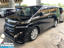 2016 TOYOTA VELLFIRE 2.5 Golden Eye Alpine Player Full Set 360 Surround Camera Automatic Power Boot 7 Seat Half-Leather Intelligent Full-LED Lights Smart Entry Multi Function Steering 3 Zone Climate 9 Air Bags Unreg