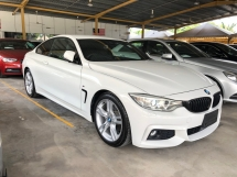 2015 BMW 4 SERIES 420i M Sport Coupe 2.0 Twin-Turbo Intelligent Pre-Crash Lane Departure Warning Sport PLUS/Comfort Drive Select Dynamic LED Lights Memory Bucket Seat M-Steering Paddle Shift Keyless-GO Smart Entry Reverse Camera Bluetooth Connectivity Unreg