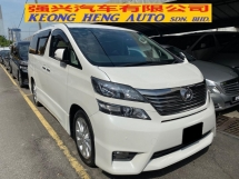 2008 TOYOTA VELLFIRE 3.5 (A) Z Registered 2011 2 Power Doors