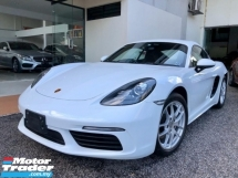 2017 PORSCHE 718 Cayman 2.0 PDK Unreg Sale Offer