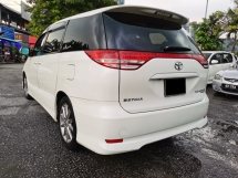 2006 TOYOTA ESTIMA AERAS S PACKAGE REG 2009 (A) 1 CAREFULL OWNER - ORIGINAL PAINT - 2 POWER DOOR - TIP TOP CONDITION - LOW MILEAGE - VIEW TO BELIEVE....