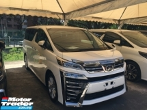 2018 TOYOTA VELLFIRE 2.5ZA Edition ZA MPV POWER BOAR P/CRASS FULL VIEW CAMERA NEW MODEL