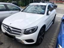 2017 MERCEDES-BENZ GLC 200 2.0 FULL SERVICE RECORD MERCEDES MALAYSIA DEC 2017 27K KM ONLY