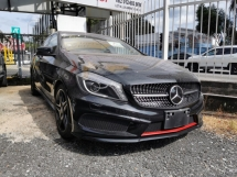 2015 MERCEDES-BENZ A-CLASS A180 AMG 1.6 NIGHT EDITION / BLIND SPOT / 5 YEARS WARRANTY UNLIMITED KM
