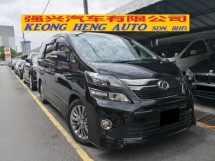 2013 TOYOTA VELLFIRE 2.4 NEW FACELIFT GOLDEN EYE EDITION TRUE YEAR MADE 2013 Sunroof Full Spec Reg 2014