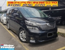 2009 TOYOTA VELLFIRE 3.5 Z G EDITION AWD (FREE 2 YEARS WARRANTY) REG 2012
