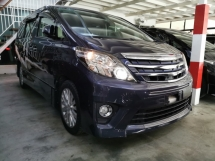 2014 TOYOTA ALPHARD 2.4 SC / PILOT SEATS / ALPHINE / GS GRILL / RAYA OFFER / 5 YEARS WARRANTY UNLIMITED KM